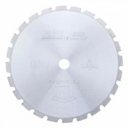AGE Series DB12-240 Carbide Tipped Fireman's Demolition 12 Inch D x 24T FT -15 Deg, 1 Inch Bore, Cir