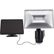Kit solar cu proiector LED si senzor de miscare Flink 6W 480 lumeni, plastic