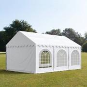 TOOLPORT Partytent 4x6m PVC 500 g/m² wit waterdicht Gartenzelt, Festzelt, Pavillon