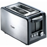 Prestige 41708_PPTSKB 800 W Pop Up Toaster(Silver, Black)