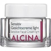 Alcina Cosmética Piel sensible Crema facial para pieles sensibles Light 250 ml