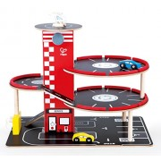 Hape - Garage Play Set Playset