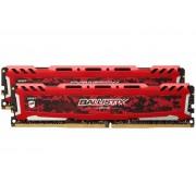 Модуль памяти Crucial Ballistix Sport LT DDR4 UDIMM 2666MHz PC4-21300 CL16 - 8Gb Kit (2x4Gb) BLS2K4G4D26BFSE
