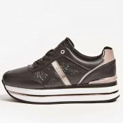 Guess Scarpe Donna Sneakers Nere Linea Dafne