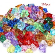 Acrylic Gems Jewels Pirate Treasure Chest Hunt Party Favors Approximately 160 pieces