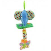 Gotovang Newborn infant Hand Bell Animal Rattles Wind chimes animal shape Crib/car hanging bells educational toy plush toys