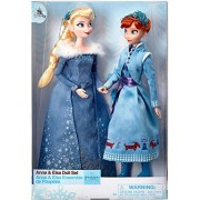 Disney Anna and Elsa Classic Doll Set - Olaf's Frozen Adventure - 11 1/2 Inch