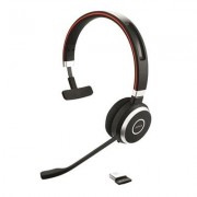 Jabra Evolve 65 UC mono - Headset - on-ear - convertible - Bluetooth - wireless - NFC - USB