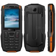 """ulefone armadura mini impermeable IP68 2.4"""" MTK6261D inalambrico radio FM 2500mah 0.3MP dual SIM telefono resistente - naranja"""