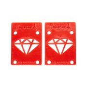 Diamond Supply Co 1-8 Inch Risers Red