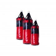 Bolsa de Box en Tela Cobertura Mir de 90 cm - Negro y Rojo