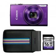 Canon iXUS 285 HS paars Essential Kit