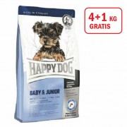Happy Dog: Supreme Mini Baby Junior, 4kg +1kg GRATIS
