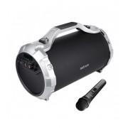 Astrum ST400 hordozható karaoke bluetooth hangszóró FM rádióval, micro SD olvasóval, mikrofonnal, AUX, USB, 25W