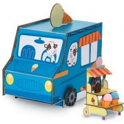 3-D Playtown Creativity Kits: Sweet Sundaes Ice Cream Truck