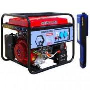 Generator curent MEDIA LINE MLG 6500E/1 6.5 KVA motor 15 CP benzina monofazat + CADOU Lanterna LED magnetica AgroPro
