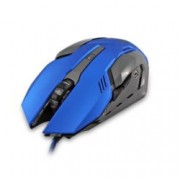 Мишка WHITE SHARK Ceasar GM-1604BL, оптична (4800 dpi), гейминг, USB 2.0, синя, 6 бутона, LED подсветка