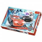 Puzzle Cars 2 Ice Racers 100 piese