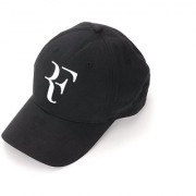 Tahiro Black Rf Cotton Cap - Pack Of 1