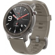 "Smartwatch Xiaomi Amazfit GTR, Display AMOLED 1.39"", Bluetooth, GPS, Carcasa Titan, Bratara Cauciuc 47mm, Android/iOS (Verde)"