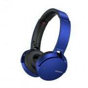 Sony Mdrxb650btl.Ce7 Cuffie Wireless Bluetooth Extra Bass Colore Blu