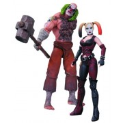 DC Collectibles Batman: Arkham City: Mr. Hammer and Harley Quinn Action Figure 2-Pack