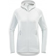 Haglöfs Heron Hood Dam stone grey 2019 XS Fleecetröjor