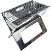 United Entertainment - Draagbare Barbecue - Notebook BBQ - RVS