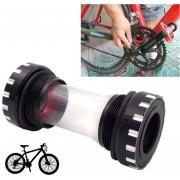 Bicicleta Bb109 Pedalier Shimano Encaja 68-73mm Para Bicicleta De Montaña (negro)