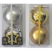 Novogodišnje ukrasne kugle 12 cm 2 kom 51-601000