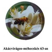 Akácvirágos-méhecskés 63mm