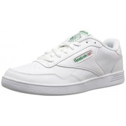 Reebok Men s Club Memt Classic Sneaker White/Glen Green 8.5 D(M) US