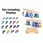 Schlüsselanhänger 30 Stk Kitesurf Kites + Display