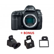Canon EOS 5D Mark IV DSLR Camera (Body) + BONUS