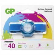 Фенер Челник GP BATTERIES CH31, LED KIDS /детски/ 40 лумена, син, GP-F-KIDS-CH31-BLUE