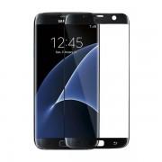 Geam Folie Sticla Protectie Display Samsung Galaxy S7 Edge Acoperire Completa Neagra