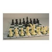 "Tournament Men and Mat Chess Set, 4"""