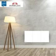 AIRELEC Radiateur electrique Fonte AIRELEC - OZEO Smart ECOcontrol 1500W Bas Blanc - A693505