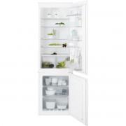 Combina frigorifica incorporabila Electrolux ENN2851AOW, 253 l, Dezghetare automata frigider Fresh Frost Free si congelator No Frost, Ventilator interior, Clasa A +, 178x54x55 cm
