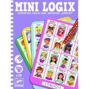 Joc de logica - Mini logix Djeco ghiceste personajul