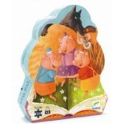 Puzzle Djeco - Cei 3 purceluși