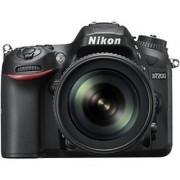 Nikon D7200 Body with AF-S 18 - 105 mm VR Lens DSLR Camera Body with Single Lens: AF-S 18 - 105 mm VR Lens (16 GB SD Card + Camera Bag)(Black)