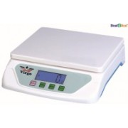 Virgo Stealodeal Electronic 25 kg x 1 gm Kitchen Multi-Purpose Weighing Scale(White)