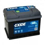 EXIDE Excell EB602 60Ah 540A autó akkumulátor jobb+ (+AJÁNDÉK!)