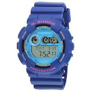 G-Shock Digital Blue Dial Mens Watch - Gd-120Ts-2Dr (G504)