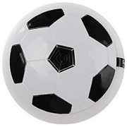 SHRIBOSSJI Football Game Toy Soccer Disc for Kids with Foam Bumper and LED Lights Football Kit