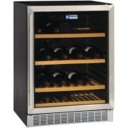 Diamond Vitrine cave à vin Ventilée 375 litres porte en acier inox BLACK 160W 595x570xh820mm