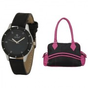 Evelyn Wrist Watch With hand Purse-LBBR-272-09