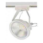 Spot trilho Com Lampada Led AR111 10w 3000K - Branco