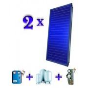 Pachet 2 panouri solare plane Buderus Logasol SKS 4.0